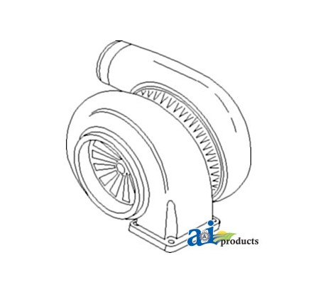 TURBOCHARGER (RE54979)